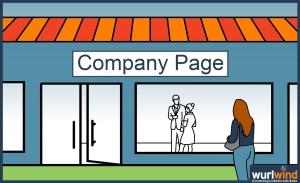Wurlwind Social Selling - LinkedIn Company Page