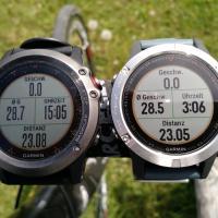 Garmin Fenix 5 im (Rennrad) Test gegen die Fenix 3