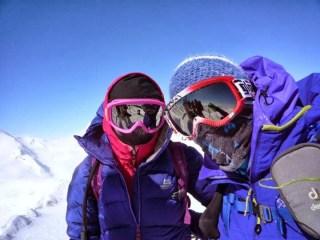 Am Gipfel der Cima Marmotta