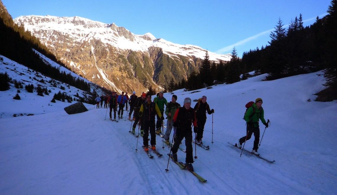 Ochsenkopf (3057m) – AV Werfen Skitourentage 2014