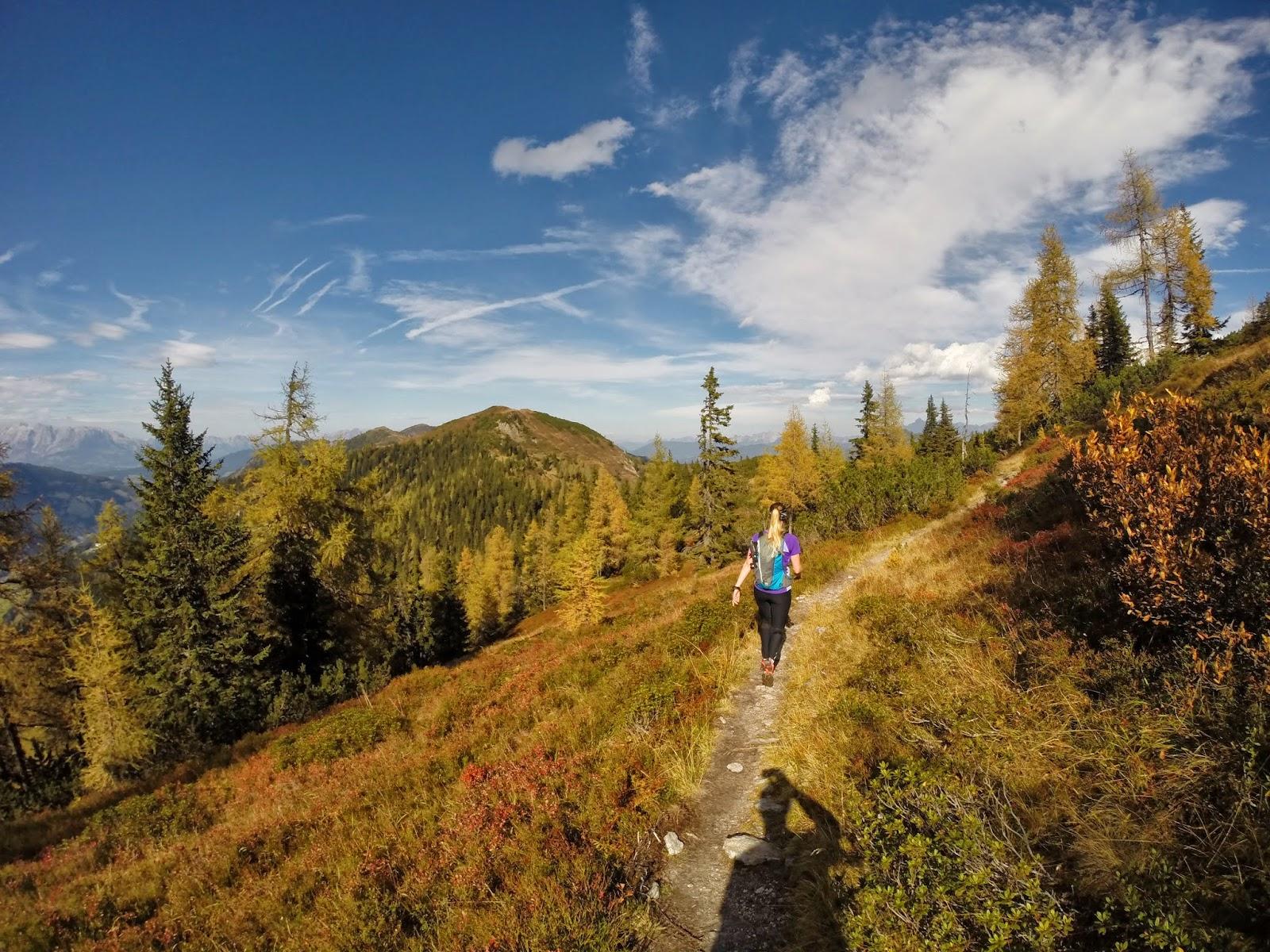 Abstieg Bergtour Ennskraxn