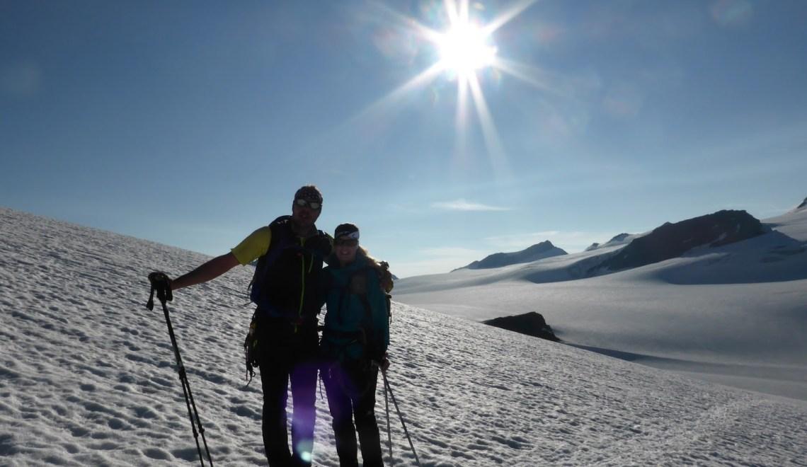 Weißseespitze (3526m) – ebenfalls ein lohnendes Ziel von der Weißkugelhütte aus