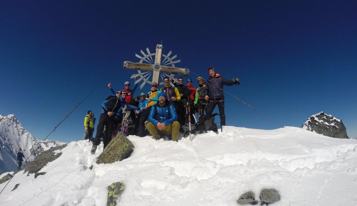 Östliche Knotenspitze (3082m) – überraschender Gipfelgenuss