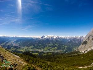 Ausblick von der Werfener Hütte