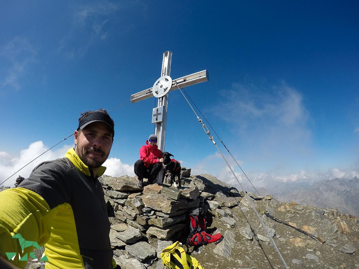 Gipfel Petzeck (3283m) am 07.09.2016