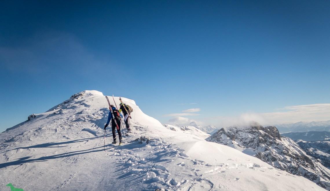 Wermutschneid (2304m) – eine der schönsten Skitouren im Tennengebirge