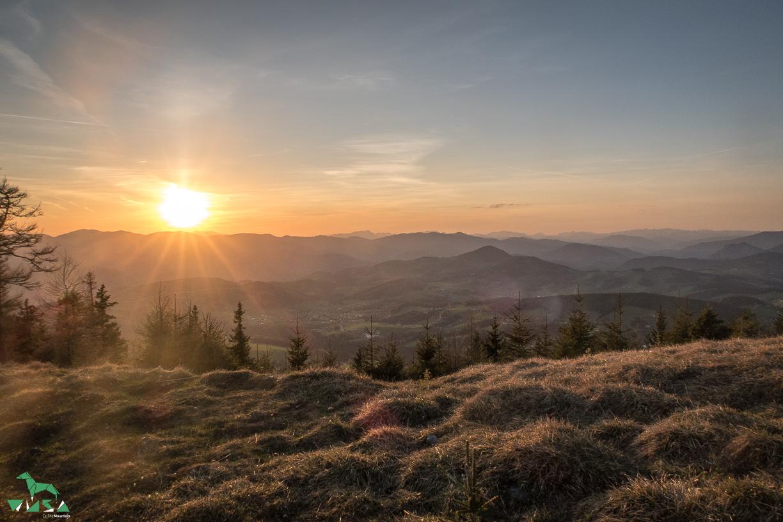 Ausblick Graazr Bergland