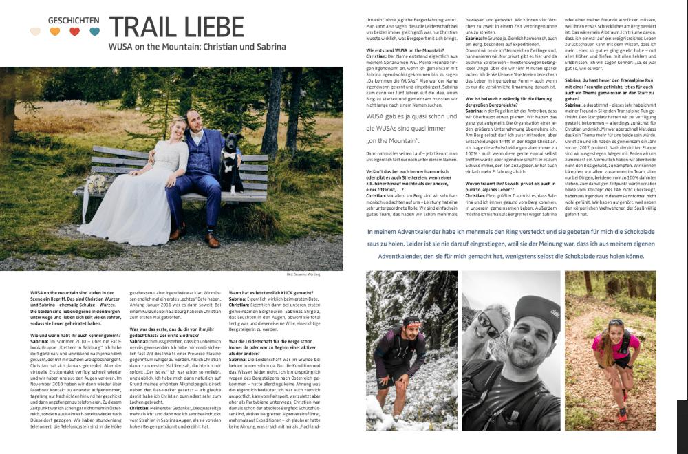 Trail-Liebe: Interview in der Trailrunning Szene