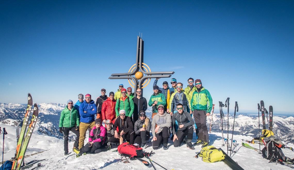 Scheiblingkogel: Highlight während der Überschreitung des Tennengebirges