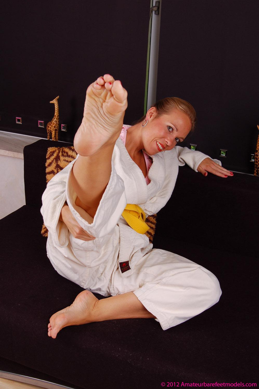 Wus Feet Links  Annets Karate Feet