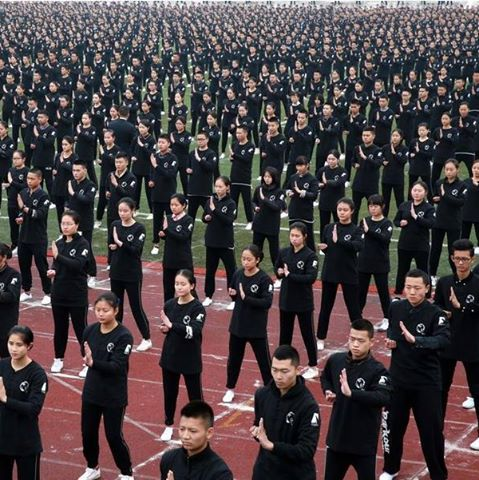 Wing Chun performance breaks Guinness record[1]- Chinadaily.com.cn