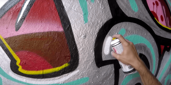 Graffiti – Rake43 – Metal & Colors