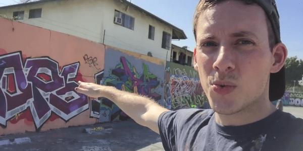 Badass Archer Street Art Mural – Los Angeles | KIPTOE