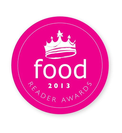 Best food blogger, food, mag, reader, awards, 2013