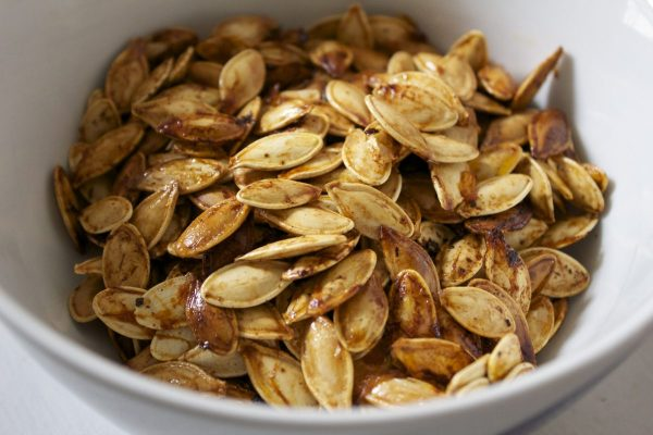 roasted, Pumpkin seeds