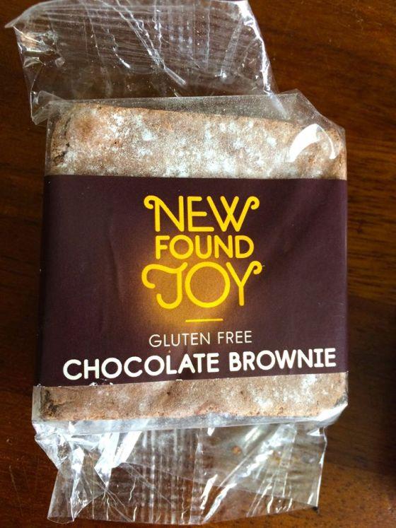 gluten free, new found joy ,chocolate brownie ,slice