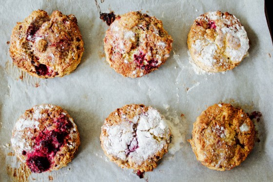 Gluten free The Pastry Room scone mix