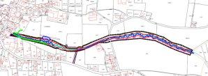 Lageplan Hochwasserschutz Etzelshoferbach