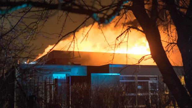 St Albans Fire by Nathan Cleary