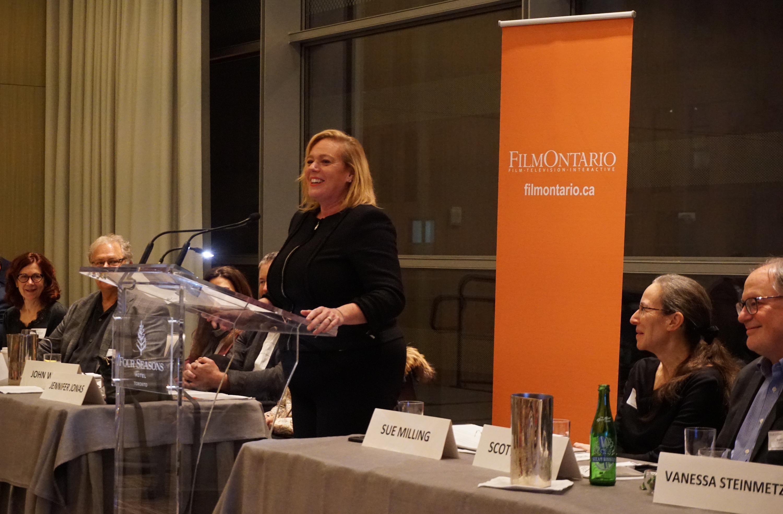 Minister MacLeod Speaks at FilmOntario Annual General Meeting