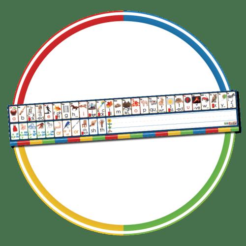 Phoneme/Grapheme Alphabet Strips