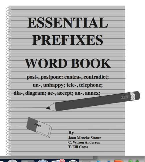Essential Prefixes Word Book (Grades 9 - Adult)