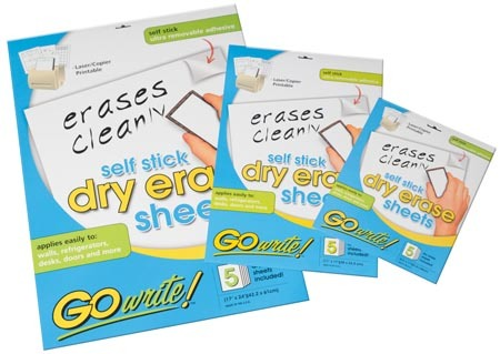 Dry Erase Sheets - 8.5x11 30pack