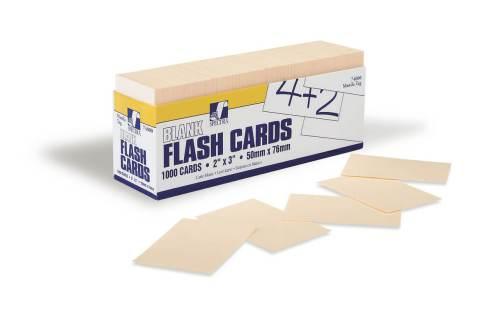 Index Cards - Manila 3x2 1000pack