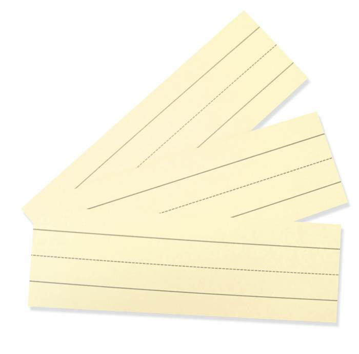 Index Cards - Assorted Ruled 3x9 100pack