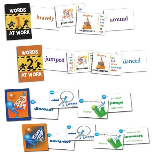 Writing Card Games Pack