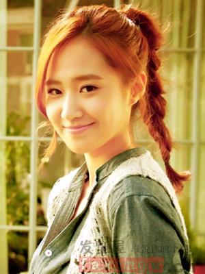 怎么紮好看的髮型 韓式簡單扎發可愛顯嫩_女生髮型_髮型網_2021髮型網