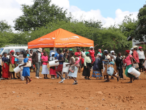 Delta Corporation Partners with World Vision Zimbabwe to Support Cyclone Idai affected Communities | World Vision International