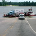 Ferry Closes Due To Ohio River Flooding