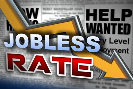 Unemployment Falls In 117 Counties