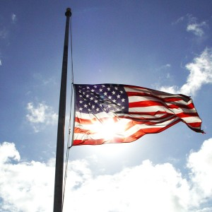 Governor Orders Flags Half-staff Monday