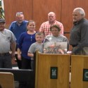 County Leaders Honor Two Employees