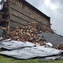 Bourbon Warehouse Collapsees