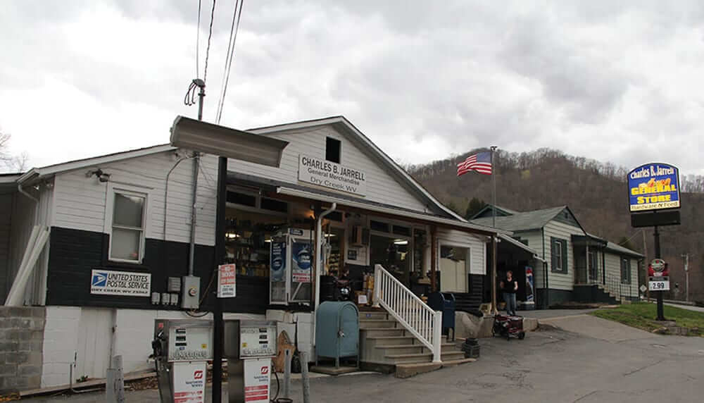 Storefront of Charles B. Jarrell General Store