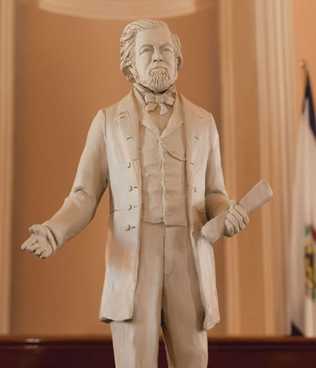 statue of Francis Pierpont