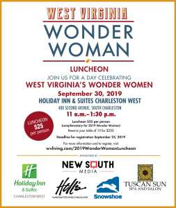 Wonder Women Luncheon 2019 flyer