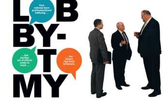 Lobbyotomy spelled out interrupted with subtitle.