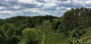 Section of the Kanawha Trace Trail