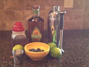 Ingredients for Mountaineer Margarita