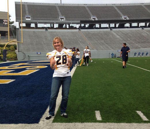On Mountaineer Field