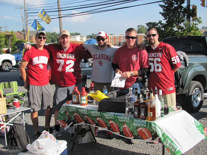 Image result for oklahoma tailgate