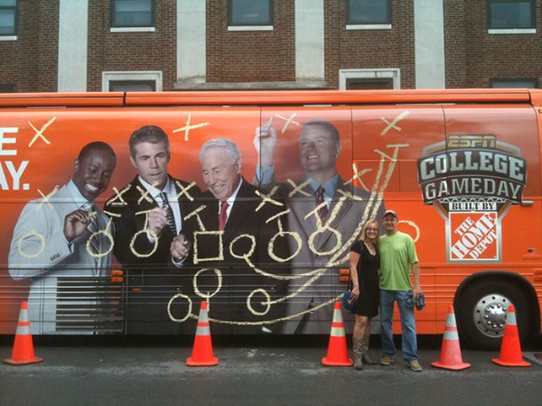 College GameDay returns to Morgantown