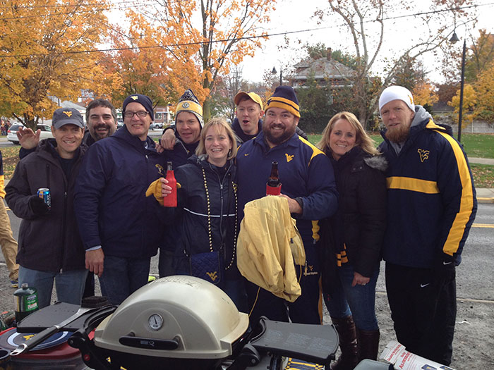 Tailgating for the WVU vs. TCU game