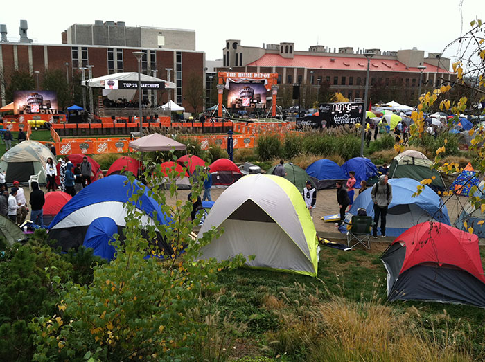 Tent City & 10 reasons I love Morgantown on gameday weekends | Wild and ...