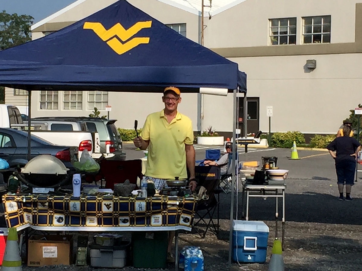 WVU tailgate I typically show up a couple hours later. I like to get a little extra shuteye and then walk the 1.8 miles from our hotel to the gold lot. & Mountaineer football teeming with crowd-pleasing gameday ...