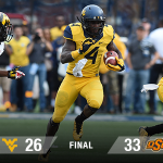 Just one girl's thoughts on WVU's loss to Oklahoma State